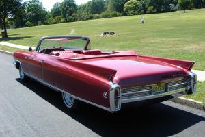 1963 Cadillac Eldorado Biarritz Convertible.  Beautiful Cruiser