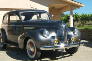"""1940 BUICK SPECIAL MODEL 40 CONCOURSE AWARD WINNING RARE SHOW CAR   """"LOW MILES"""""""