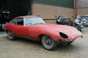 Jaguar E-type S1 FHC 4.2 UK RHD