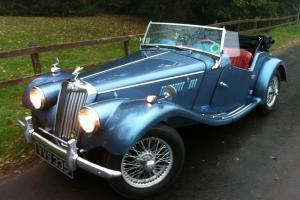1954 MG TF 1250cc LEFT HAND DRIVE