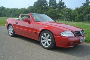 Mercedes-Benz SL 280, 1996, red, hard roof, full history, lovely classic
