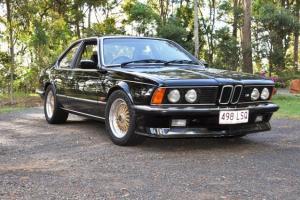BMW E24 M635CSI 1985 M Powered Genuine Right Hand Drive