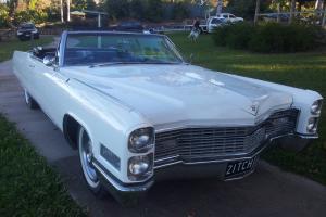 66 Cadillac Coupe DE Ville Convertible RHD Rare