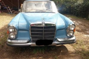 Mercede Benz 250 S 1966 4D Edan 3 SP Automatic 2 5L Carb