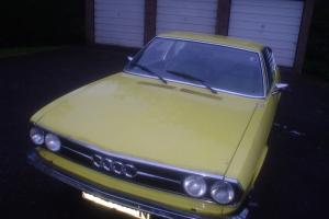 1974 AUDI 100 S COUPE manual RESTORATION PROJECT
