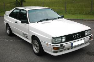 1988/MB AUDI UR QUATTRO TURBO WHITE