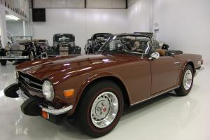 1976 TRIUMPH TR-6 ONE OWNER FROM NEW ONLY 60,870 ORIGINAL MILES 4-SPEED MANUAL