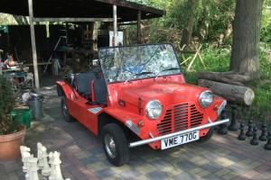 Nice 1968 Morris Mini Moke for sale, no rust,no holes ,good paintwork.