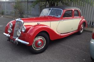 RILEY 2.5 LITRE RMB RED/CREAM