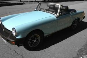 1975 MG Midget Roadster