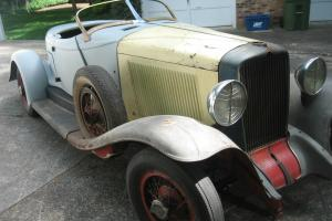 1931/32 Auburn Speedster project car - many extras...  LOOK