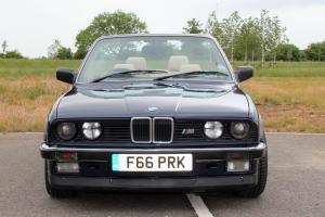 BMW e30 320i Manual Convertible / Cabriolet - Stunning Show / Classic Car