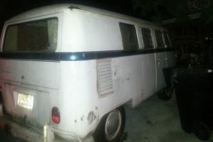 1966 Volkswagen Splitty Bus Camper Westy