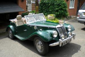 MG TF GENTRY CLASSIC BRITISH SPORTS / KIT CAR TAXED (HISTORIC FREE)