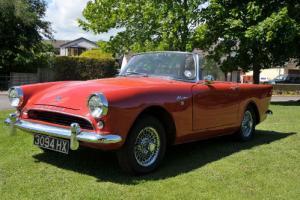 1960 Sunbeam ALPINE Sports/Convertible 1592cc Petrol Series 1