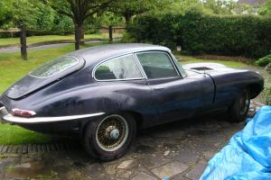 JAGUARE E TYPE COUPE 1968 SIR 1 AND A HALF 4,2 LTR,L.H.D. BARN FIND,1 OWNER CAR