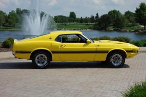 1969 Shelby GT 500, 428 Super Cobra Jet, Drag Pack, Special Order Grabber Yellow