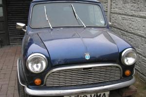 1984 AUSTIN MORRIS 1275cc MINI VAN 95L BLUE