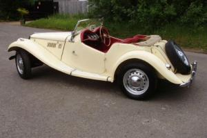 1954 MG TF BODY OFF RESTORATION SOME TIME AGO, DRY STORED FOR THE LAST 30 YEARS