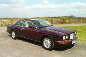 1996 Bentley Continental R Coupe Mulliner spec,ex demo, last owner since 98  Photo