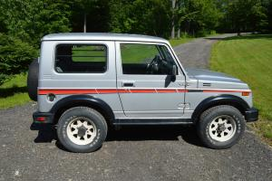 1987 Suzuki Samurai TIN TOP RARE, Clean Car Fax  Low Miles Classic