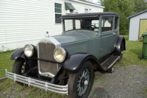 1928 McLaughlin Buick Model 48 Victoria 4 Passenger Coupe
