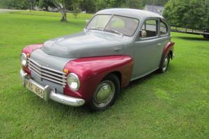 1954 Volvo PV444, 4 cylinder, three manual transmission, new tires, new interior