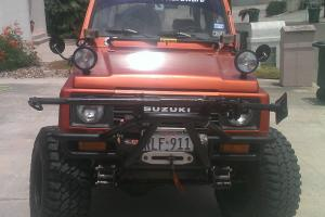 Suzuki Samurai with V6 Conversion and Automatic Transmission