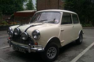 1965 Morris Mini Minor Super De Luxe mk1
