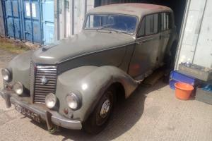 barn find vintage classic 1950 armstrong siddeley whitley
