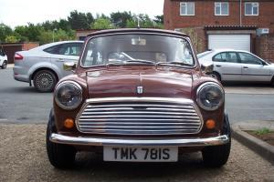 1978 classic mini 1000 fully restored