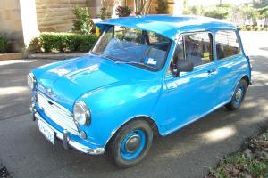Morris Mini Round Nose 1969