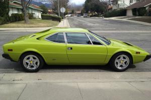rare color,verde germoglio dino 308 gt4, all done right.