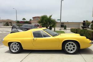 Refurbished 58K Mile California 1969 Lotus Europa S2 1.6L with Panasport Wheels