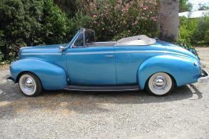 1940 Mercury Convertible Hot Rod, 350 Chevy Engine