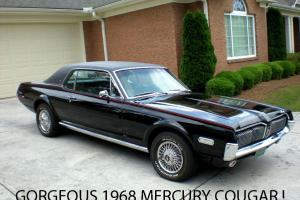 1968 MERCURY COUGAR XR7 IMPRESSIVELY RESTORED 1960s AUTOMOTIVE ICON NO RESERVE!