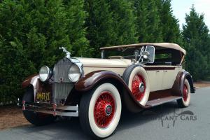 "1929 Packard 640 Dual Cowl Phaeton - ""The Maybeck Packard"" - Fresh Restoration!"