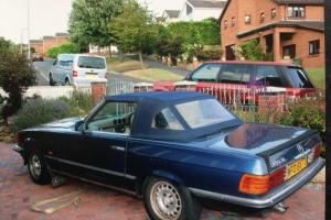 1978 MERCEDES 450 SL AUTO BLUE SOFT TOP