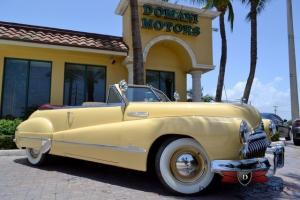 1948 Buick Super Eight Conv.,Frame-off Restoration, ONLY 3k Miles Since Restored