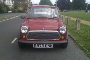 1988 AUSTIN MINI 1000 CITY E RED 9700 miles and 1 Owner from new
