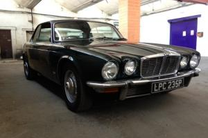 Jaguar xjc auto 1975 Green with beige leather very cool car