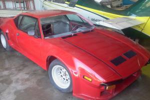 1974 DeTomaso Pantera GTS project