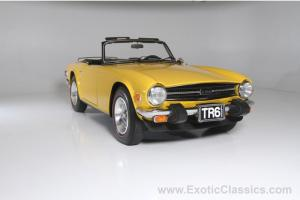 Triumph TR6 Convertible only 7884 miles!