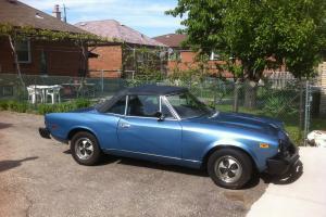1979 Metallic Blue, Fitat Spider 2000
