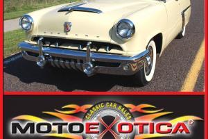 1952 MONTEREY CONVERTIBLE, AUTOMATIC TRANS, NEW POWER TOP, REBUILT V8