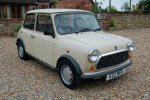 1987 AUSTIN MINI 1000 CITY E BEIGE  Photo
