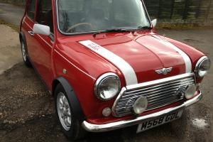 1995 ROVER MINI COOPER 1.3I RED