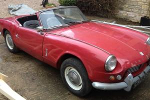 Triumph Spitfire Mk2 Red restoration project