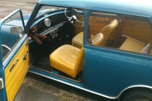 Classic Austin Mini 850 just over 20,000 miles on the clock