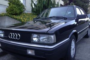 1987 Audi 4000 Quattro CS Sedan 4-Door 2.2L
